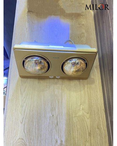 Đèn sưởi nhà tắm hông ngoại 2 bóng Hà Nội