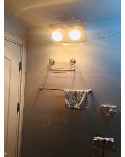 Đèn sưởi nhà tắm âm trần 2 bóng