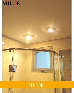 Lắp đèn sưởi phòng tắm âm trần 2 bóng