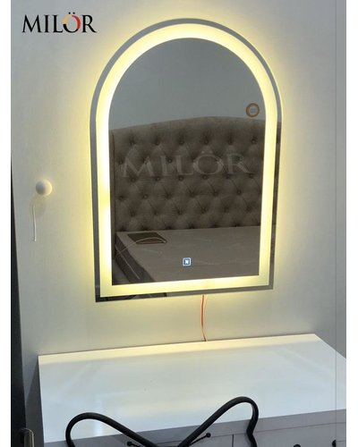 Gương bàn trang điểm đèn led 60cm