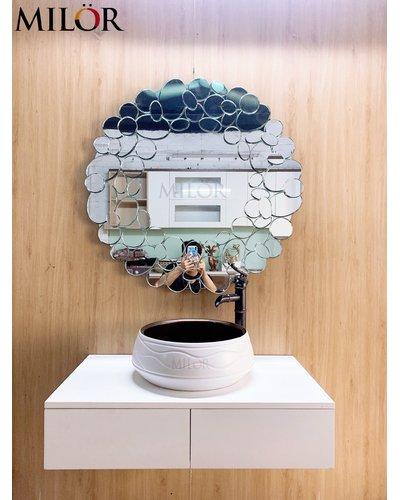 Chậu Lavabo thiết bị vệ sinh nghệ thuật Quảng Ninh
