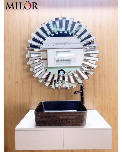 Chậu Lavabo thiết bị vệ sinh nghệ thuật Hà Nam