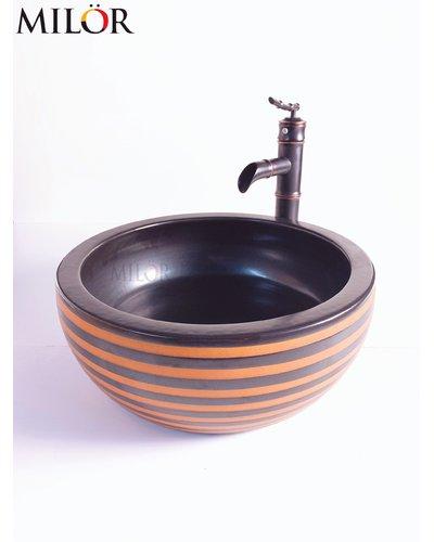 Chậu Lavabo thiết bị vệ sinh nghệ thuật KOn Tum