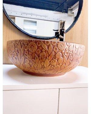 Chậu Lavabo thiết bị vệ sinh nghệ thuật Lạng Sơn