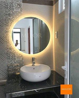 Gương Phòng Tắm Đèn Led Tròn Cao Cấp