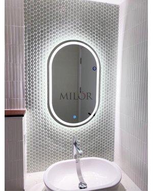 Gương vòm phòng tắm hiện đại Milor