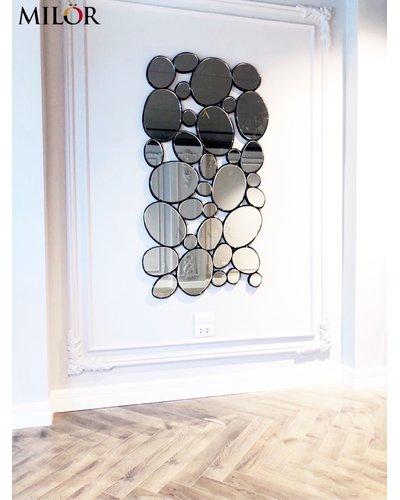 Gương decor trang trí phòng khách hiện đại
