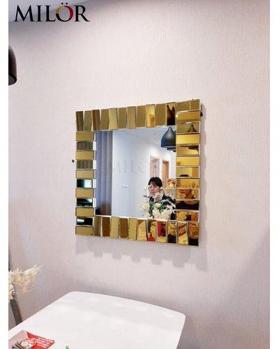 Gương trang trí phòng khách The World