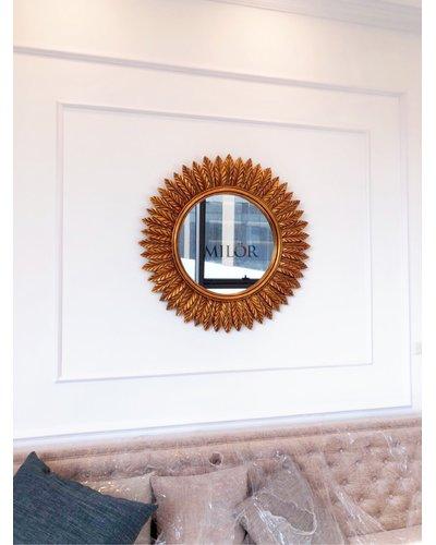 Gương tân cổ điển trang trí phòng khách GAE