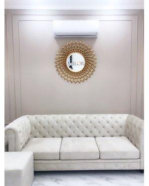Gương trang trí phòng khách electra Milor