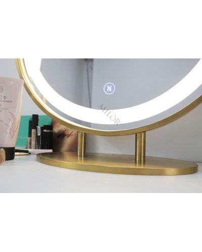 Gương bàn trang điểm đèn led để bàn