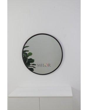 Gương bàn trang điểm  tròn vành thép ống