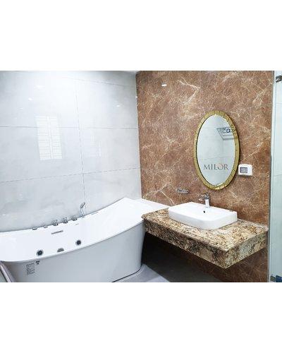 Gương elip nghệ thuật phòng tắm Thanh Hóa