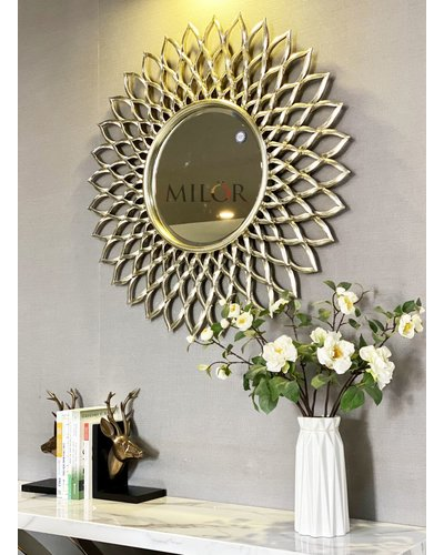 Gương tân cổ điển trang trí phòng khách Electra