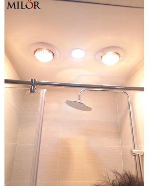 Đèn sưởi âm trần nhà tắm ML6008
