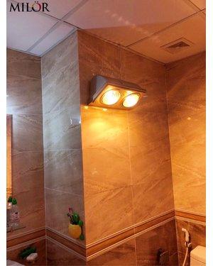 Đèn sưởi treo tường 2 bóng ML8002