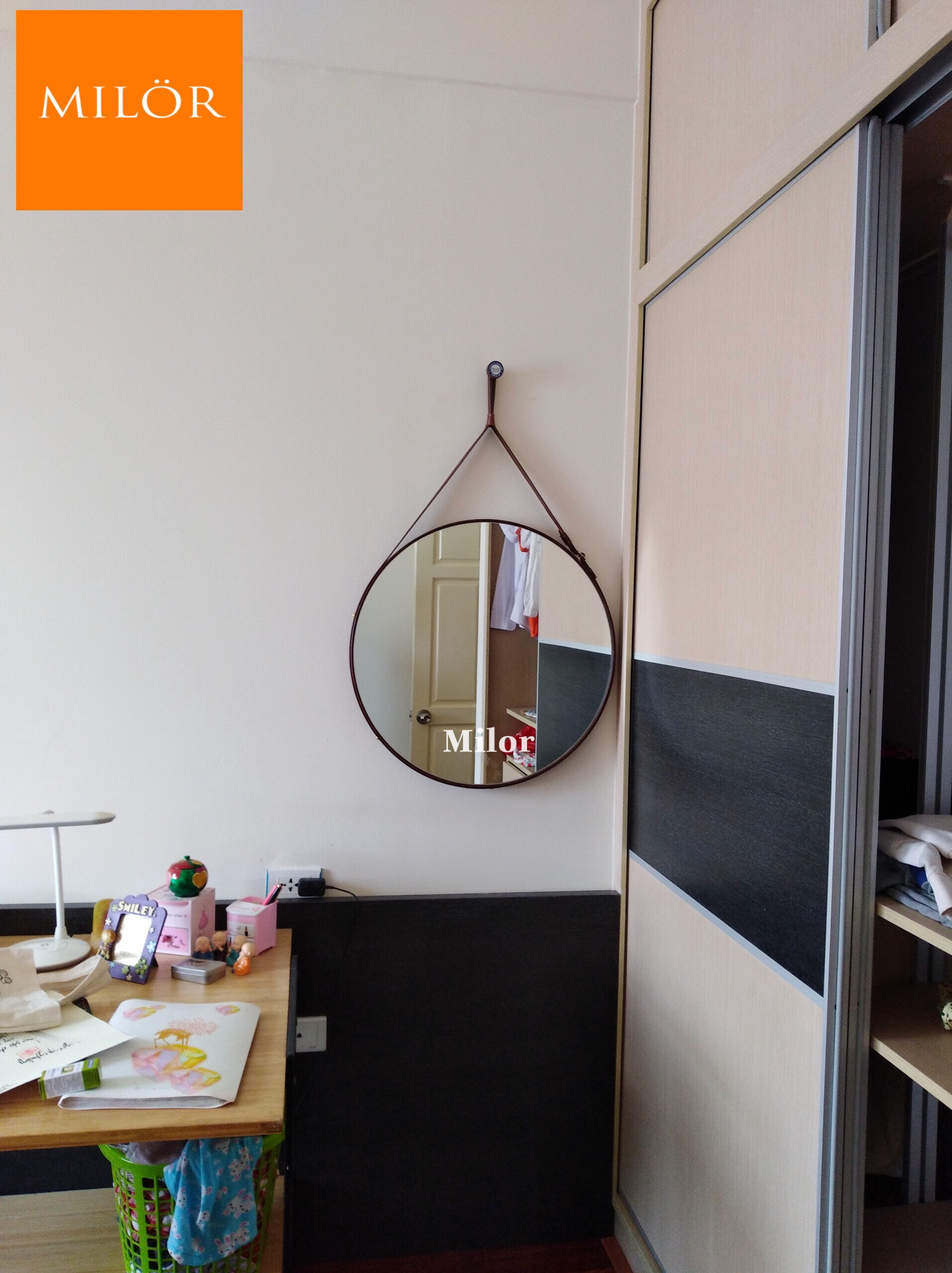 Gương bàn trang điểm luxury Milor